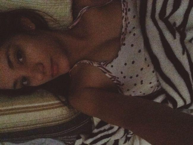 Selfie Good Morning Waking Up Girl