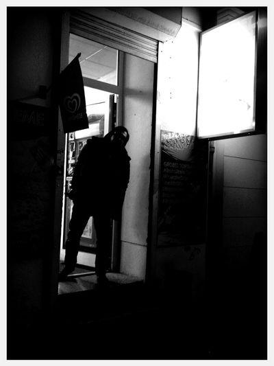 Checking in at Choriner Straße Checking In