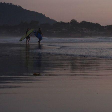 Surfers Carmel California Carmel By The Sea Carmel Highlands Beach