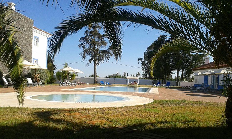Enjoy your life Relaxing Enjoying Life Summer Pool Holidays Posada Portugal EyeEm Best Shots Nofilter Afternoon