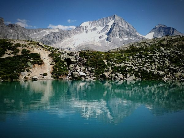 Landscape Landscape_Collection Water Reflections Alps Altoadige Italy 2400mslm The Great Outdoors - 2016 EyeEm Awards