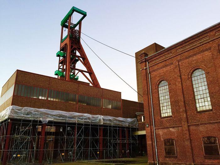 Architecture Building Exterior Industry Kohle Ruhrpott Zollverein