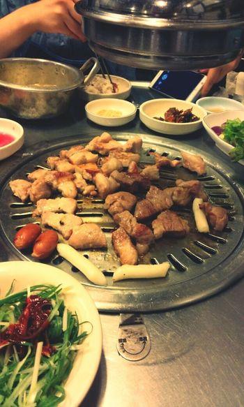 Food 조대포 숙대입구 먹방 오랜만에 고기고기