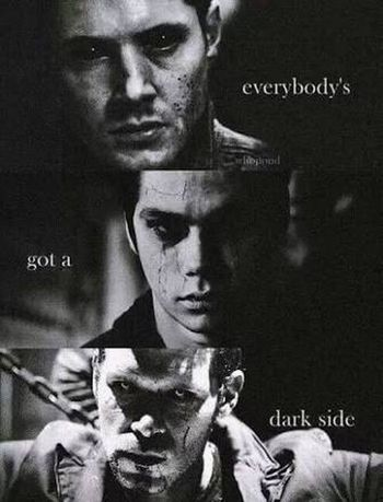 Everybody's got a dark side Dark TheOriginals  Vampires