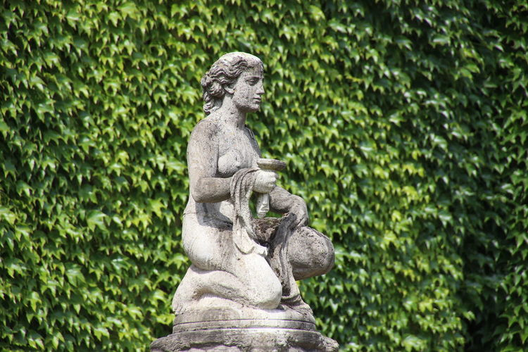 Fountain monument by sculptor Prof. Heinrich Jobst. Art Nouveau Day Fontain Health Monument Nature No People Outdoors Sculpture Spa Statue Tourist Attraction  Tree
