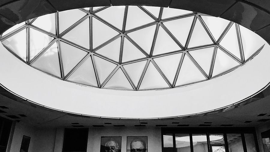 Architecture Built Structure Indoors  Low Angle View Window Ceiling No People Architectural Design Day Close-up