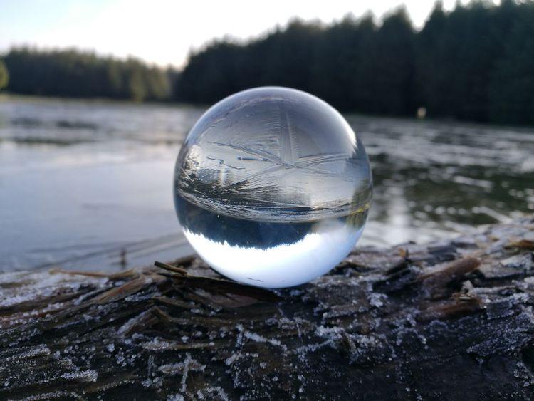 frozen pond Weather Landscape Frozen Water No People Winter Frozen Water Planet Earth