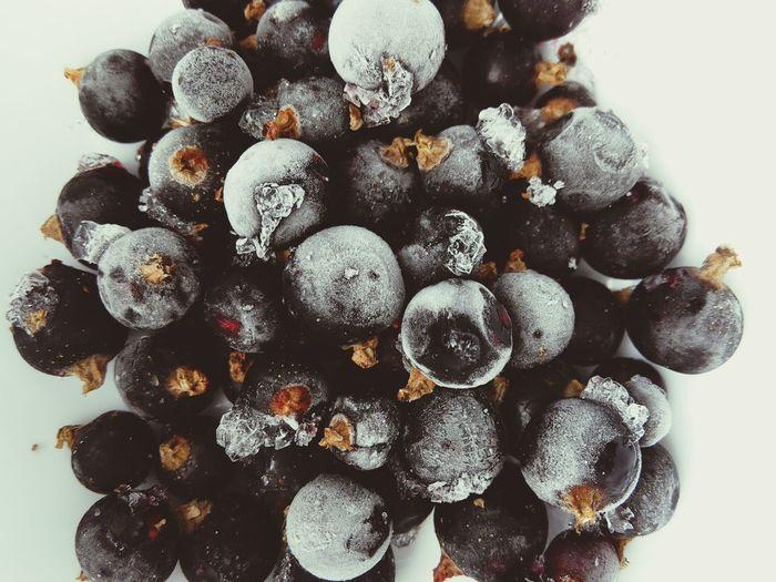 Currants Frozen Fruits Macro Fruit Food Photography