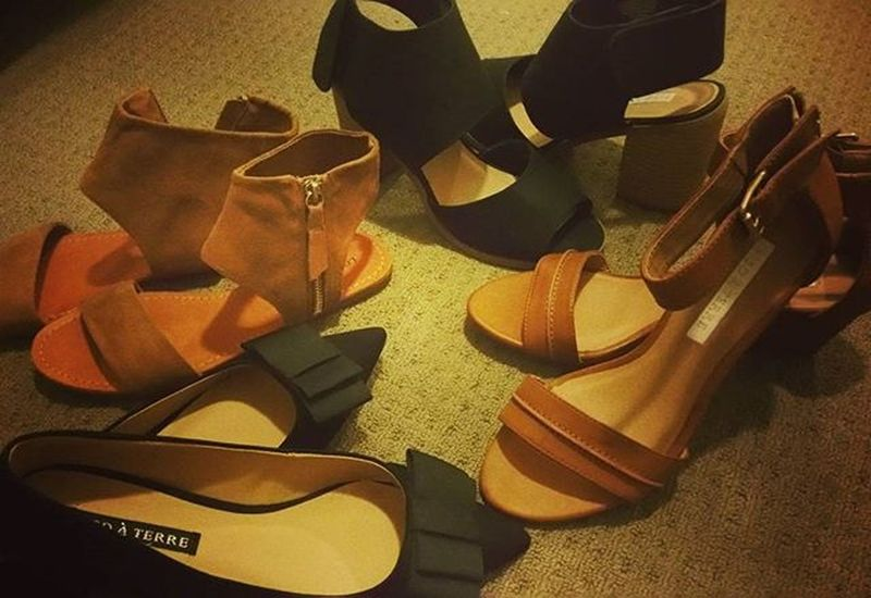Gotta love bargains!!! Found a new shoe heaven for me in Brissy. Hihi! Spent just $88 for these 😍😍😍😍 FamousFootwear  Brisbanebargains Shoeaddict Happyfeet Loveshoes Keepingupwithmem