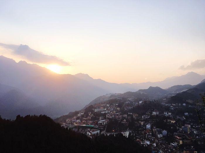 Buổi chiều hoàng hôn núi Hàm Rồng First Eyeem Photo