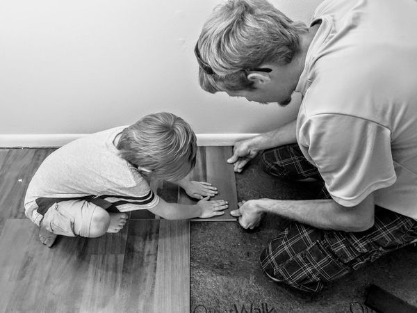 Senior Adult Togetherness Sitting Two People Childhood Adult People Indoors  Bonding Mature Adult Child Day Close-up Fatherhood Moments Father & Son EyeEm Diversity