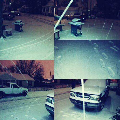 My Street Last Night :)