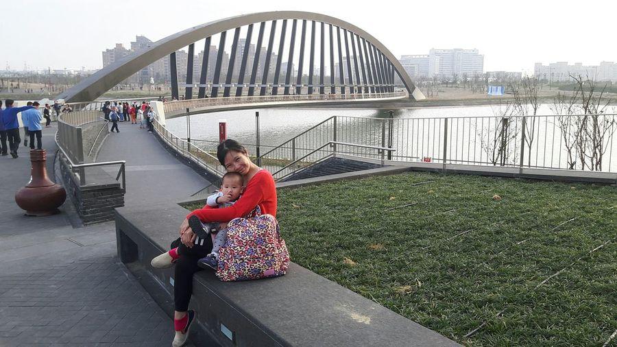 1y1m Jayden Chiayi, Taiwan Sofi Baby ❤ 天氣好,出門走走,一個小時逛完南院