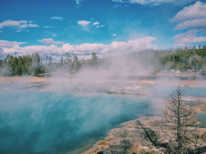 Water Scenics Beauty In Nature Hot Spring Geyser Tourism National Park Nature Travel Destinations Beauty In Nature