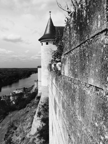 Architecture Castle Chinon Stairway Statue Blackandwhite Château Château De Chinon Day No People Sculpture Wine