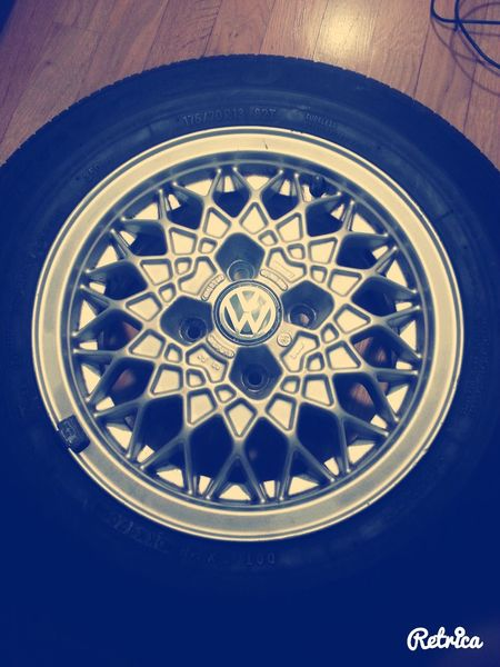 Check This Out BBS_Rims VW Jetta Mk1 original rims for jetta mk1 $$$