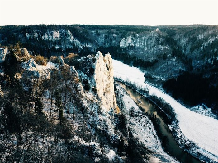 Drone  Winter Beauty In Nature Cold Temperature Day Donautal Dronephotography Droneshot Dronie Environment Formation Germany High Angle View Landscape Mountain Mountain Range Nature No People Non-urban Scene Outdoors River Rock Scenics - Nature Sky Snow Tranquil Scene Tranquility Tree Winter