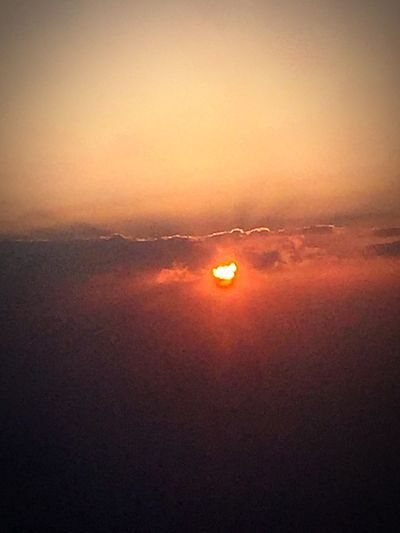Check This Out Taking Photos Sunset #sun #clouds #skylovers #sky #nature #beautifulinnature #naturalbeauty #photography #landscape Sunrise_sunsets_aroundworld From An Airplane Window Sky And Clouds Sky