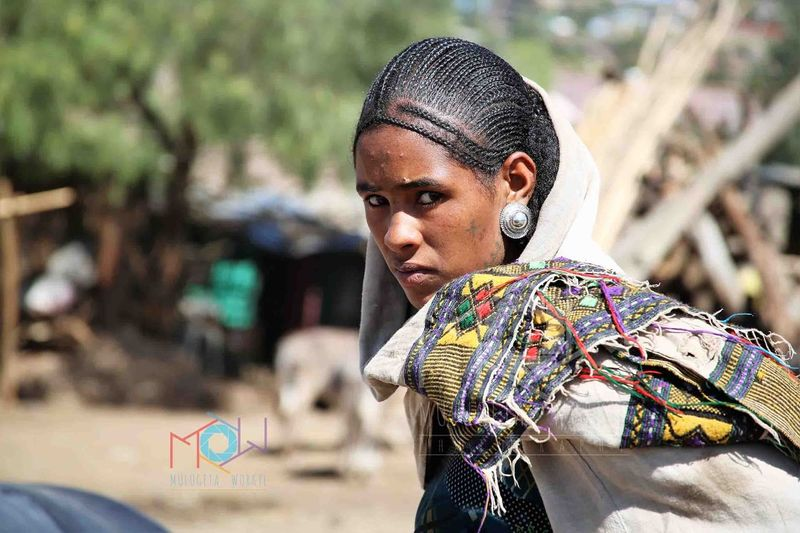 Ethiopian beautiful woman at the market Portrait Photography Orthodox Church Piligrim Lalibela Ethiopia Ethiopian Art Ethiopianwoman