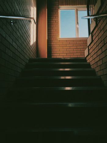 Up the close. Steps Architecture Window Indoors  Staircase Built Structure Stairs No People Day IPhoneography VSCO