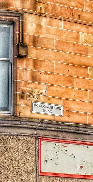 Ghost Signs  Tenements