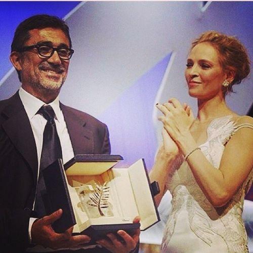 Altın Palmiye'yi de biz kaptık!Odul de Chopard tasarımı💞 Turkish film Wintersleep wins Palme d'or at Cannes2014 !👏👏👏👏 Nuribilgeceylan Chopard Palmedor Instagramturkey Turkinstagram Turkishfollowers Turkshot