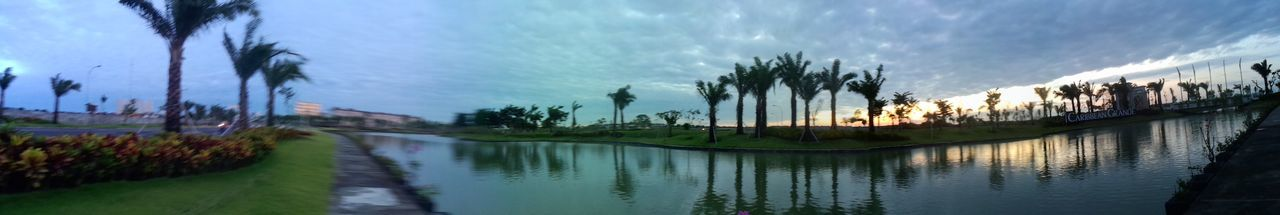 Favorite Places View Jogging Track Beautiful Nature Surabaya In The Morning picture from oppo smart phone