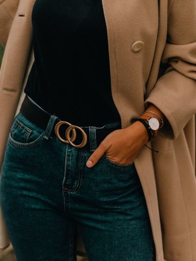 Danielwellington Fashion Photography Fashion Model Fashion Fashionblogger EyeEm Selects Adult Midsection Human Body Part People Arts Culture And Entertainment Clothing Casual Clothing Jewelry Fashion Belt  Indoors  Close-up Women Body Part Standing Jeans Leather EyeEmNewHere