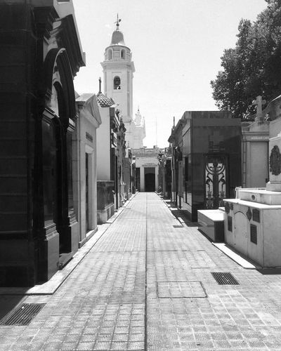 Argentina Buenos Aires Travel Photography Recoleta Black And White Photography Cemetery Recoleta Cemetery