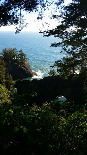 Arch rock in