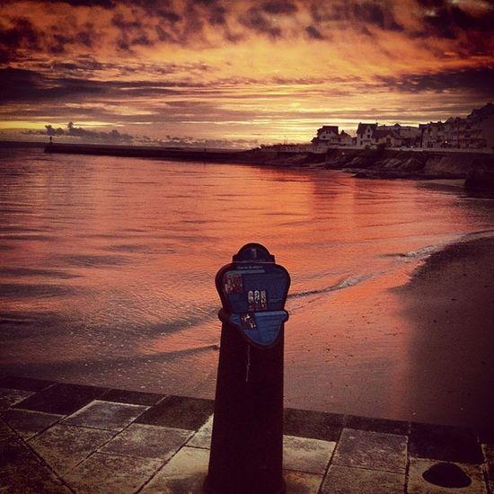 Coucher de soleil dans le port de Saint Gilles Croix de Vie Vendée Port Stgillescroixdevie Sunset