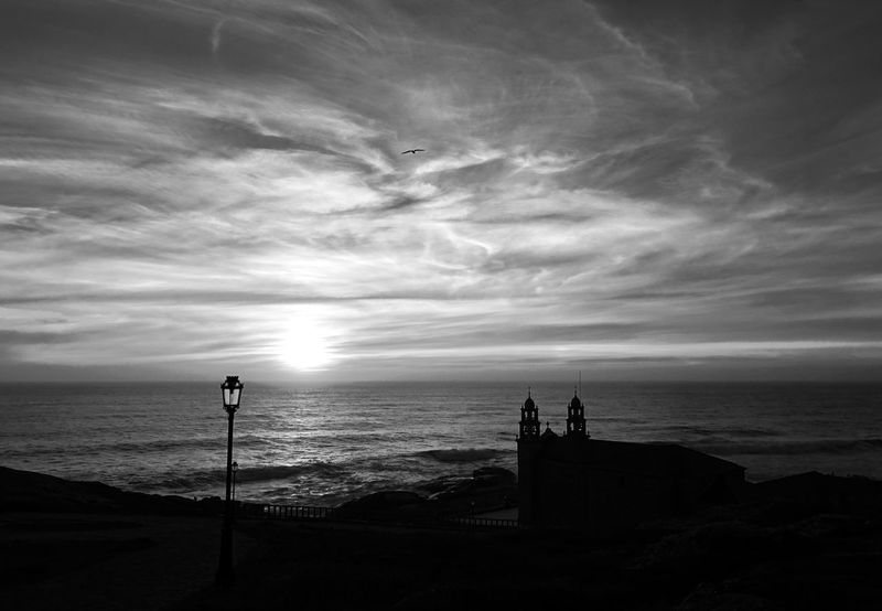 Horizon Over Water Black & White Camino CaminodeSantiago Galicia Peace SPAIN B&w Beach Beauty In Nature Black And White Bnw Cloud - Sky Horizon Over Water Nature Outdoors Peaceful Scenics Sea Silhouette Sky Sunset Tranquil Scene Tranquility Water Wave Idyllic Coast Seascape Ocean