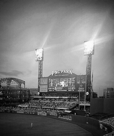 PNC Park Baseball Pirates Pittsburgh Black And White Photography Photo Black & White Black And White Photography