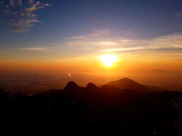 Sunrise Sunlight Tranquility Mountain Nature