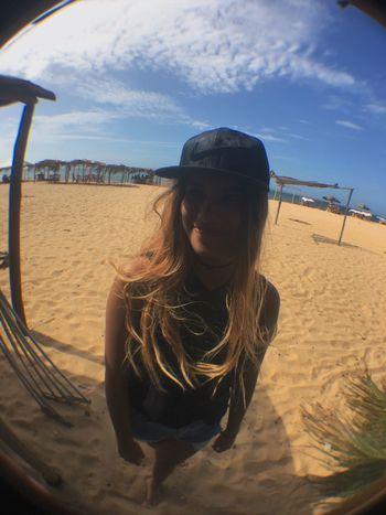 Cumaná Venezuela Mochilera Sky Me Nike Beach Girl