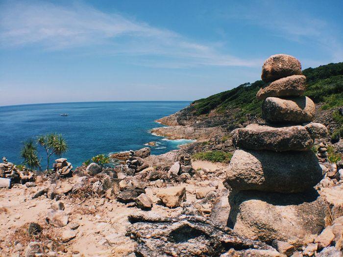 Beach Sea Rock - Object