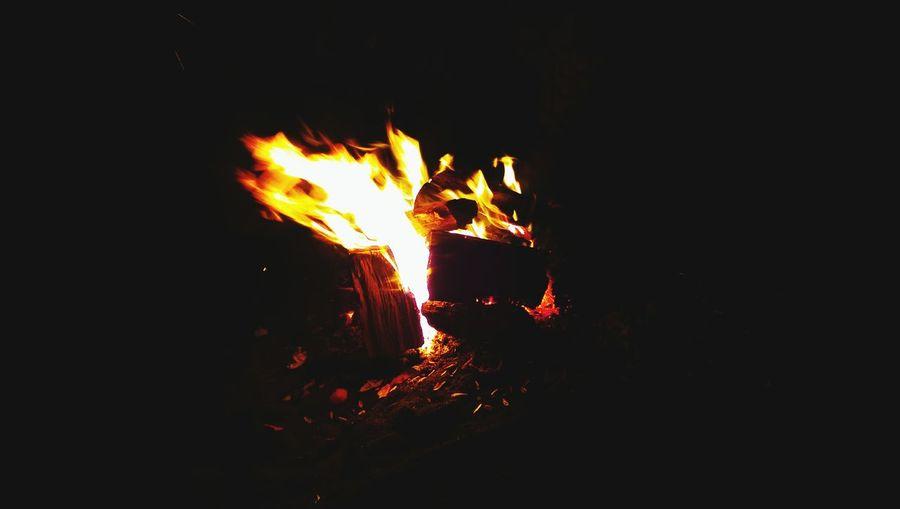 Fire in a fire