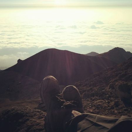 Happy with some skys Barefoot Hanging Out Camping Hikingadventures Photographer Merapi Exploreindonesia Volcanoes Adventure Nexus5