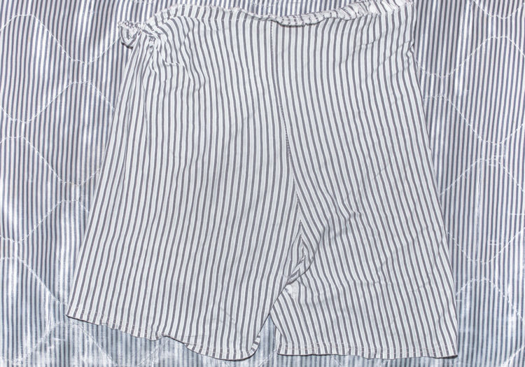 Old pants. Pattern Full Frame Backgrounds No People Indoors  Textured  Close-up White Color Abstract Gray High Angle View Pants Old Fabric