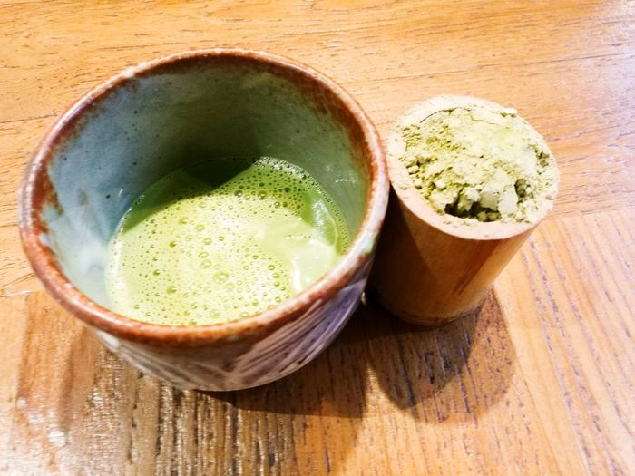 EyeEm Selects Matcha Tea Green Tea Food And Drink Studio Shot Tea Ceremony Cultures Drink Japanese Tea Cup High Angle View Indoors  Healthy Eating Latte Green Color Tea - Hot Drink Close-up No People Freshness Ready-to-eat Flower Head
