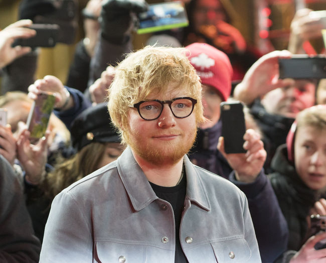 Berlin, Germany - February 23, 2018: English singer Ed Sheeran on red carpet while attending the 'Songwriter' premiere during the 68th Berlinale International Film Festival Berlin 2018 Artist Celebrity Ed Sheeran Ed Sheeran <3 Ed Sheraan❤ Famous Singer  Singer/Song Writer Audience Berlinale Berlinale 2018 Berlinale Festival Berlinale2018 Berlinale68 Celebrities Crowd Famous People Fans Focus On Foreground Front View Portrait Singer And Artist Song Writer