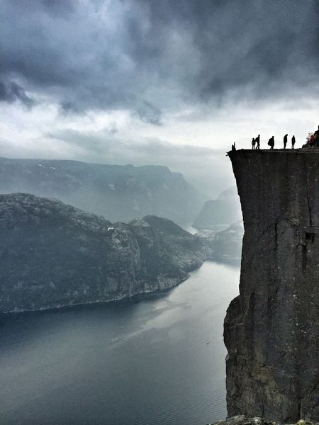 Norway Top Fjord Fiordo At Norway Preikestolen Protecting Where We Play Edge Of The World Seeing The Sights Market Bestsellers October 2016 Go Higher
