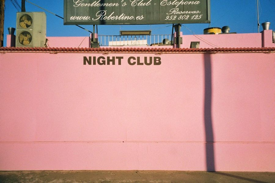 Night Club Pink Colors Buildings 35mm Filmisnotdead Analogue Photography Film Photography SPAIN The Week On EyeEm Colour Of Life Color Palette Millennial Pink
