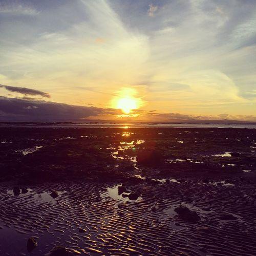 Setonsands Beach Water Sea Sunset Rocks Nature Scenics The Week On EyeEm EyeEmNewHere