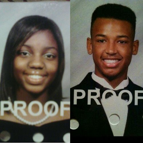 Aren't We Just Adorable!! Me & My Babes Are Seniors & We're Both Graduating!!! 