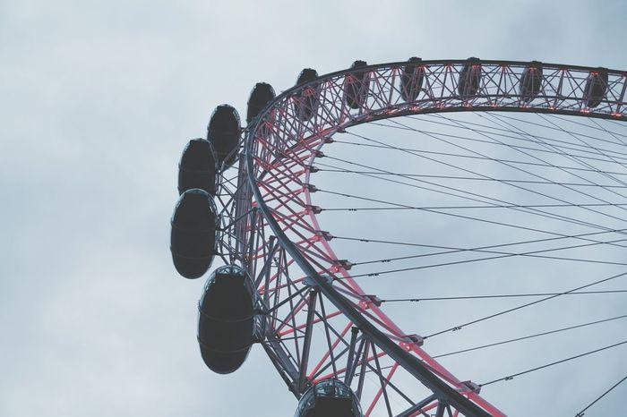 EyeEm Selects London City Wheel The London Eye Europe Travel Destinations Tourism Atraction Fun View England Sunset Sky Cloud Funny Landmark