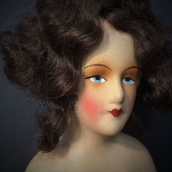 Vintage doll poses Doll Doll Photography Antique Doll Antique Toys Pincushion Doll German Doll Vintage Sewing Sewing Stuff Ladies Vanity 1920s 1920's Delicate