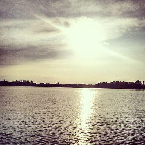 Scenery Lake Klukom Poland