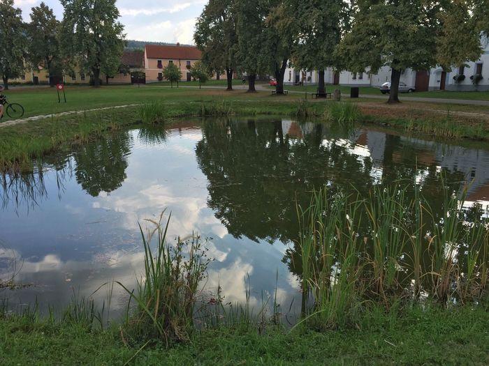 Český Krumlov Czech Republic Water Unesco Culture Landscape Holasovice Czech Culture