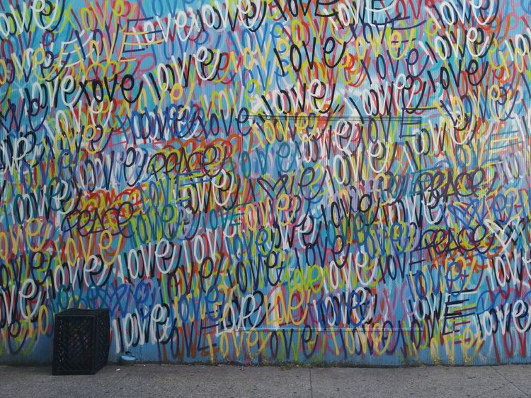 EyeEm Diversity Love Multi Colored Graffiti Street Art Graffiti Art Graffiti Wall Message To The World Message On The Wall Message To Love Charm City Reality City Outdoors Building Exterior Architecture Baltimore Maryland Bmore Baltimore City Life Street Photography Streetphotography Cityscape